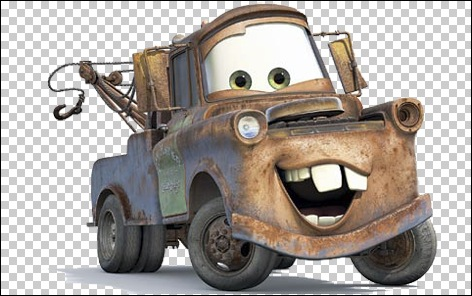 Mater With Alpha Transparency